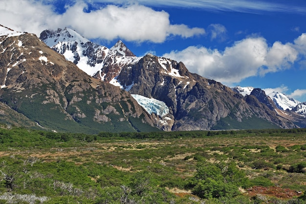 Fitz roy mount, el chalten, patagonië, argentinië