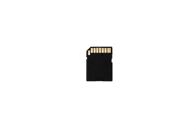 Flash drive op een wit oppervlak