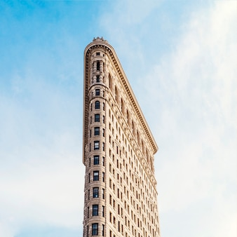 Flatiron building in de stad van new york