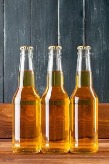 Flessen met bier