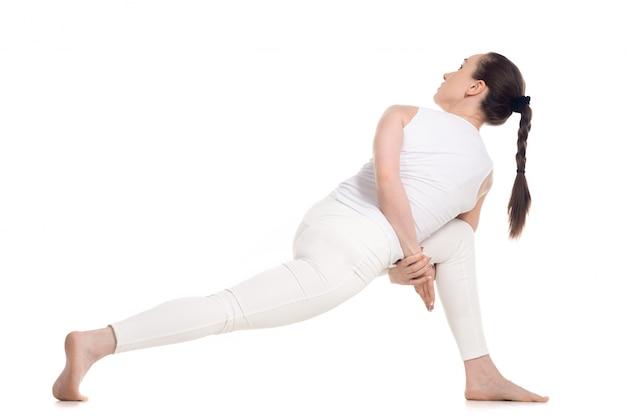 Flexibele vrouw training