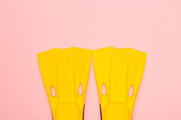 Flippers op roze