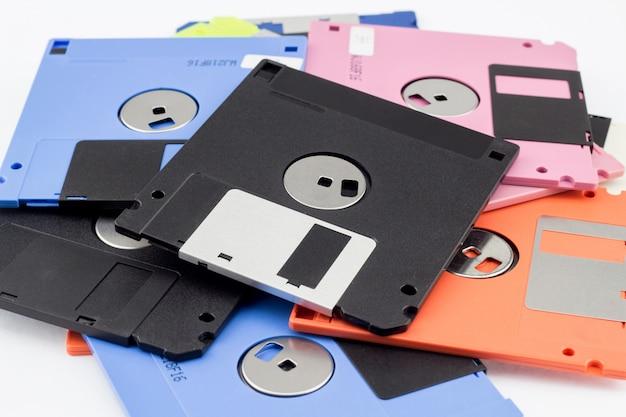 Floppy disk magnetisch