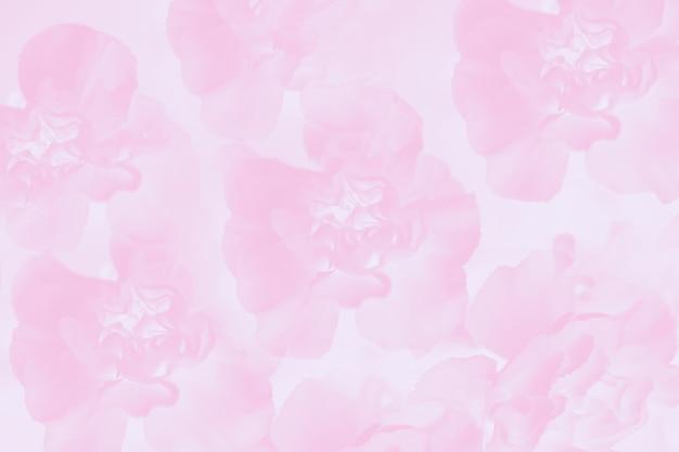 Floral anjer veldboeket patroon, lichtroze