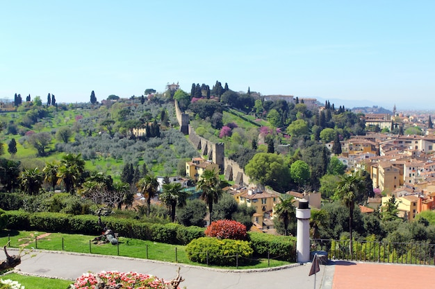 Florence in het voorjaar