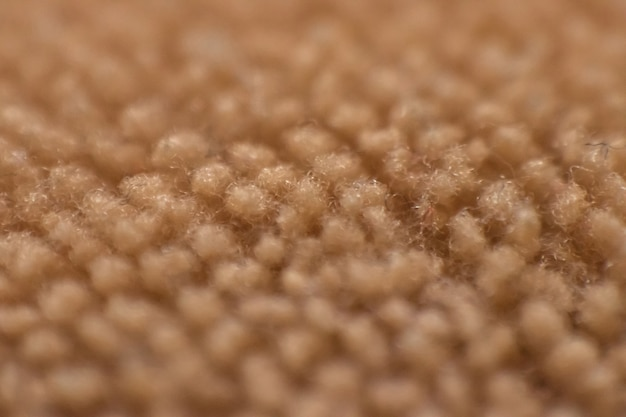 Fluffy textures in close