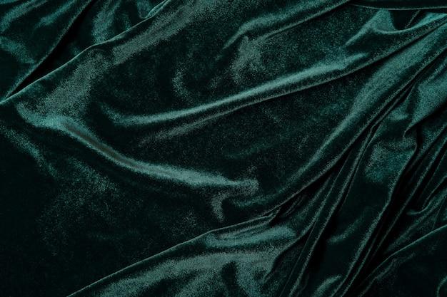 Fluwelen stof in tidewater-groene kleur