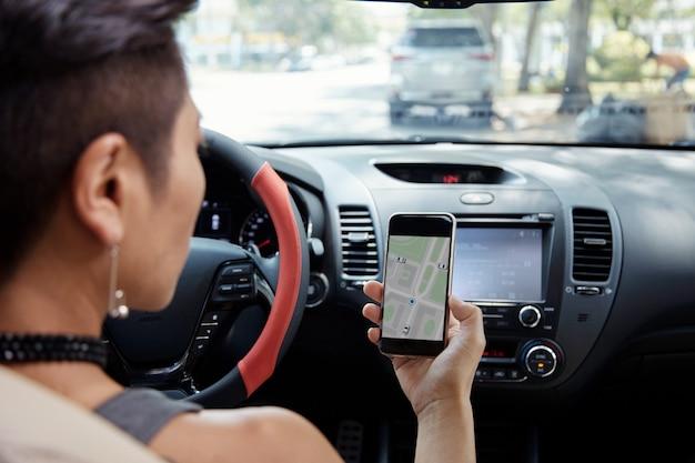 Follwoing navigatie-app