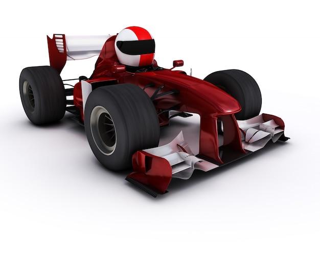Formule 1-auto-ontwerp