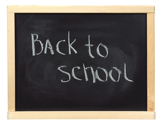 Formule geschreven op een schoolbord met wit krijt