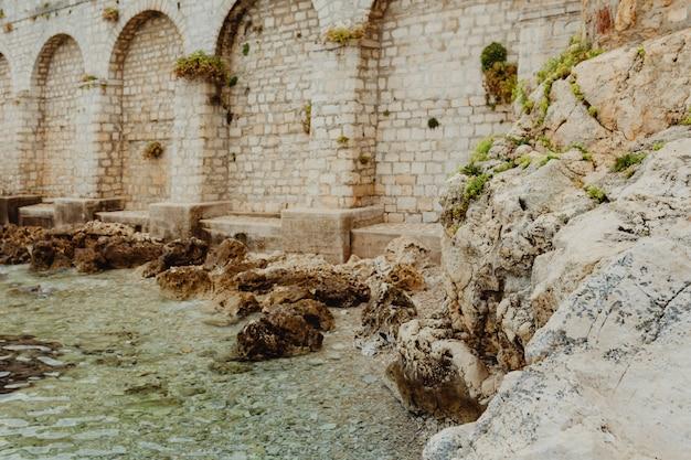 Fort aan het water Premium Foto