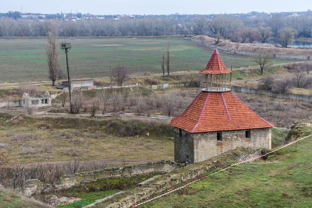 Fort in bender, transnistrië, moldavië