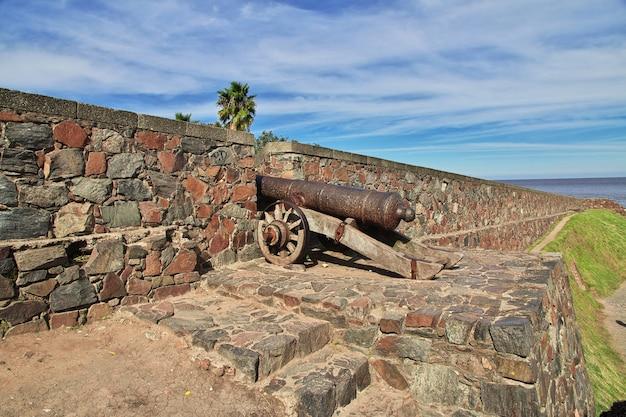 Fort in colonia del sacramento, uruguay
