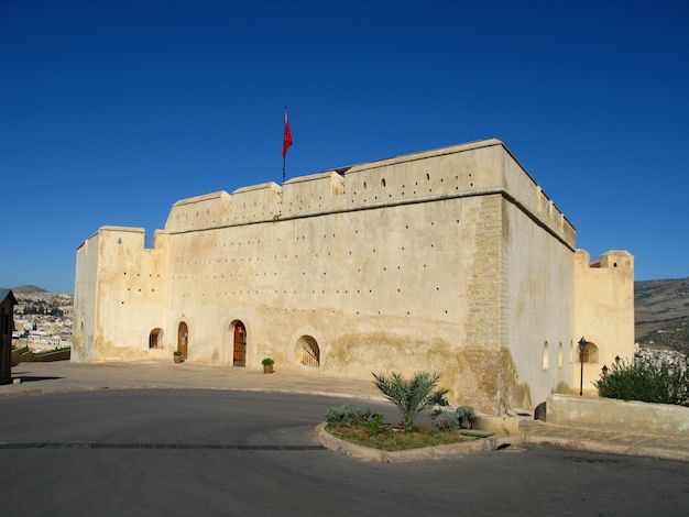 Fort in fez, marokko