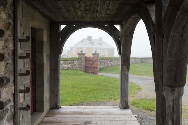 Fort van louisbourg, louisbourg, cape breton island, nova scotia, canada