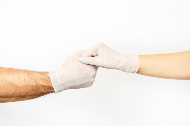 Foto over het onderwerp coronavirus covid-19.