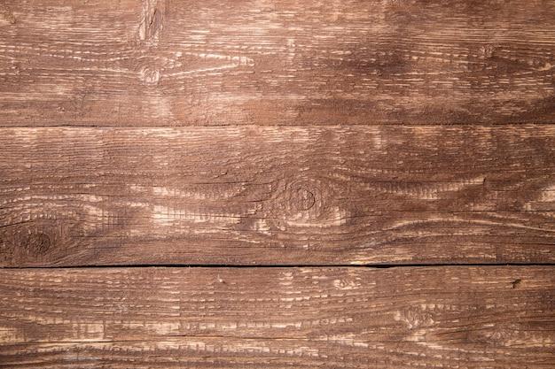 Foto van bruin houten textuur, bord horizontaal
