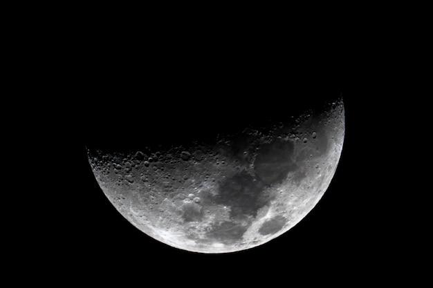 Foto van de maan