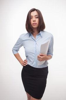 Foto van een mooie zakenvrouw