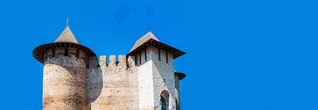 Foto van het architectonische monument, fort soroca, moldavië