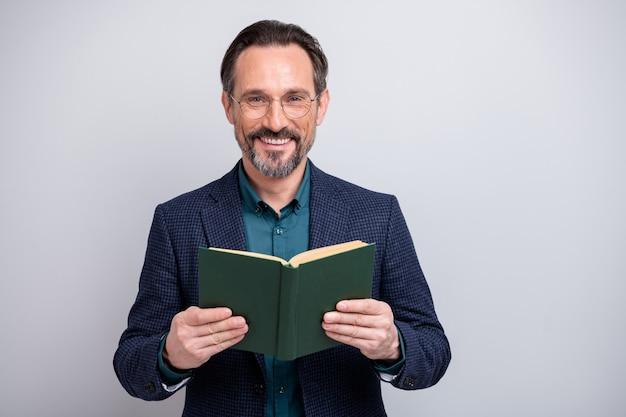 Foto van het boek van de bedrijfsmensenlezing