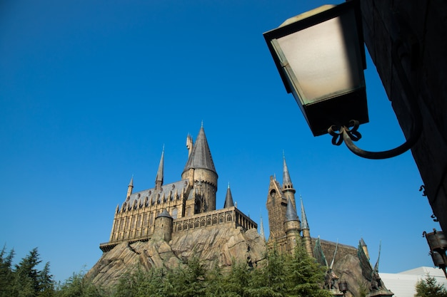 Foto van hogwarts castle.