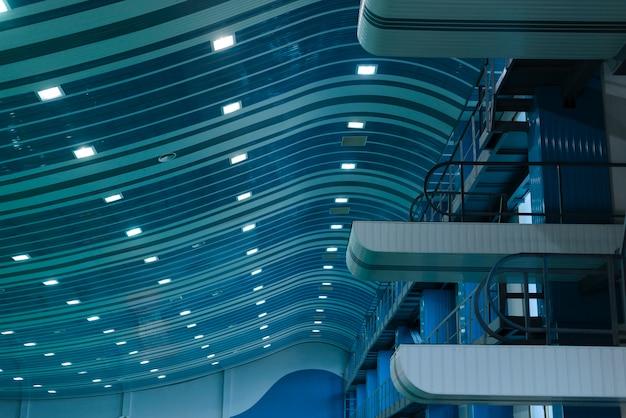 Foto van zwembadtrampolines