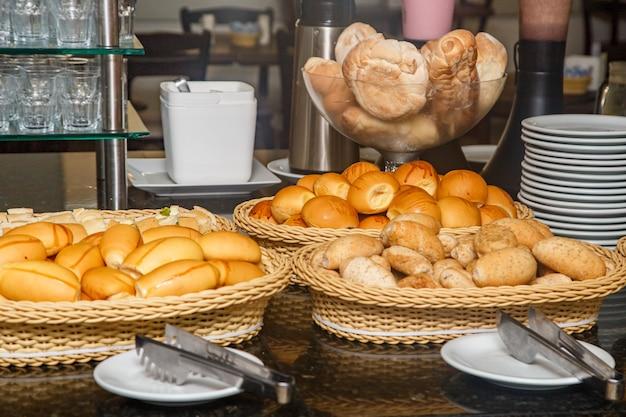 Fotobrood voor hotelontbijt