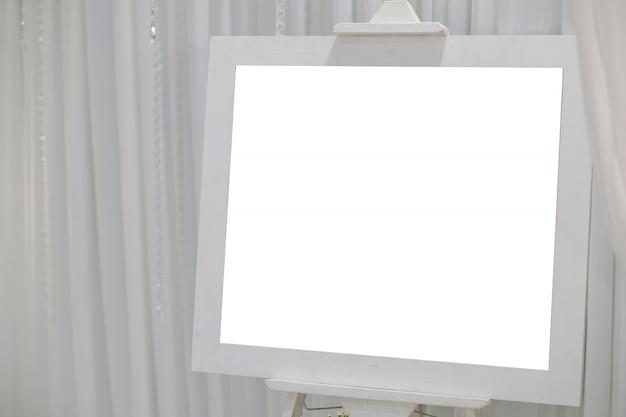 Fotolijst, leeg kader voor tekst