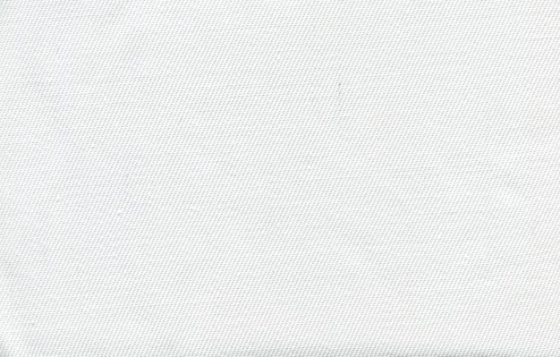 Fototextuur van witte stof van een dunne draad