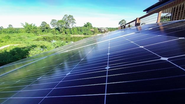 Fotovoltaïsch zonnepaneel voor alternatieve energieopwekkingsbron