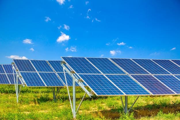 Fotovoltaïsche voedingssystemen.