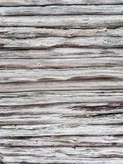 Fragment van een houten muur