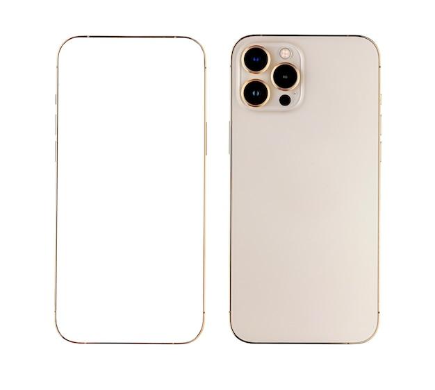 Frame en achterkant van smartphone