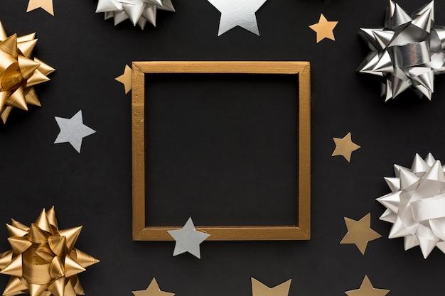 Frame en decoraties voor feest