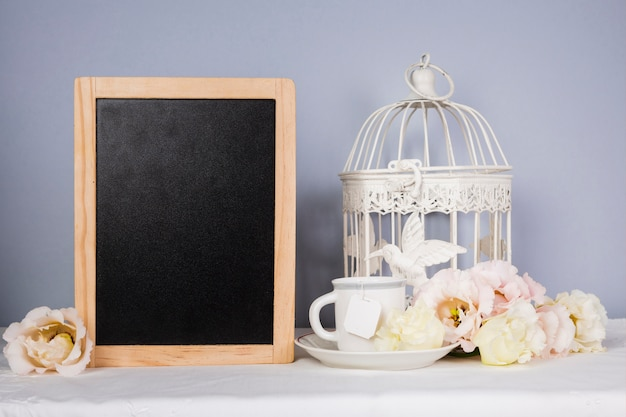 Frame mock-up met decoraties