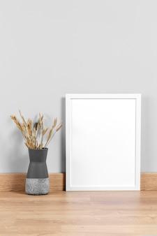Frame mock-up op tafel