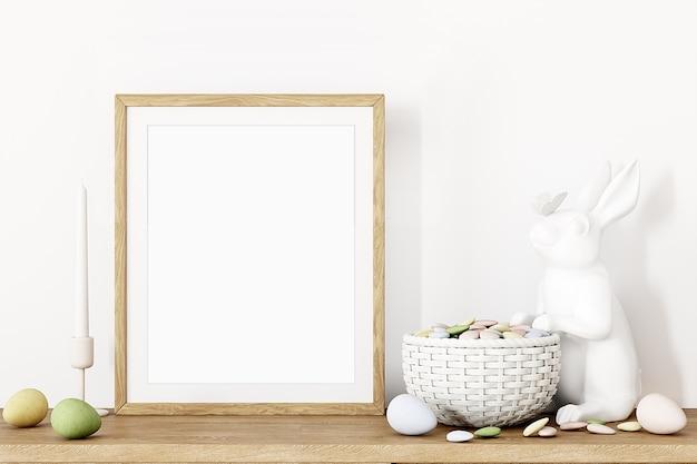 Frame mockup en paasdecor