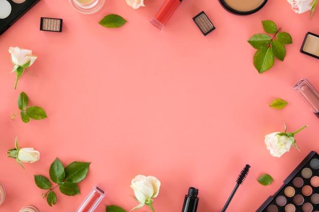 Frame van cosmetica