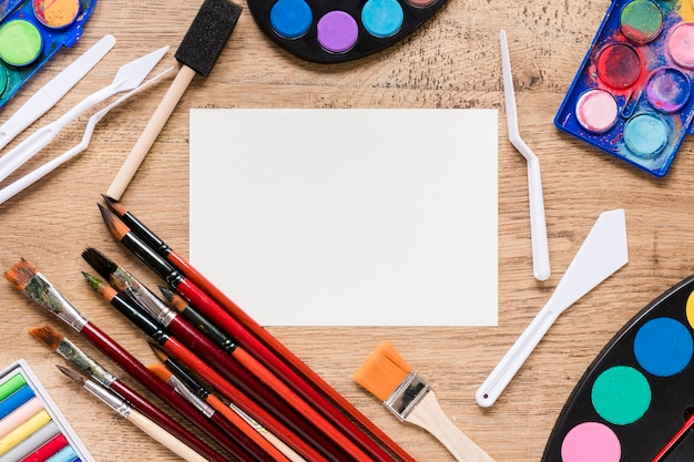 Frame van kunstenaarstools