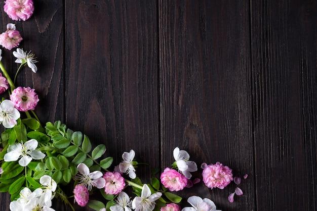 Frame van mooie bloemen