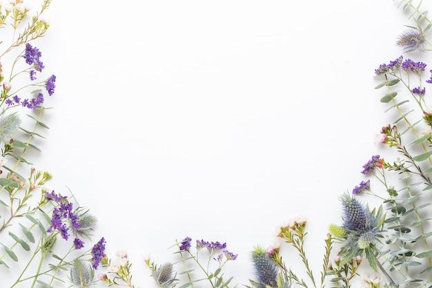 Frame van prachtige bloemen