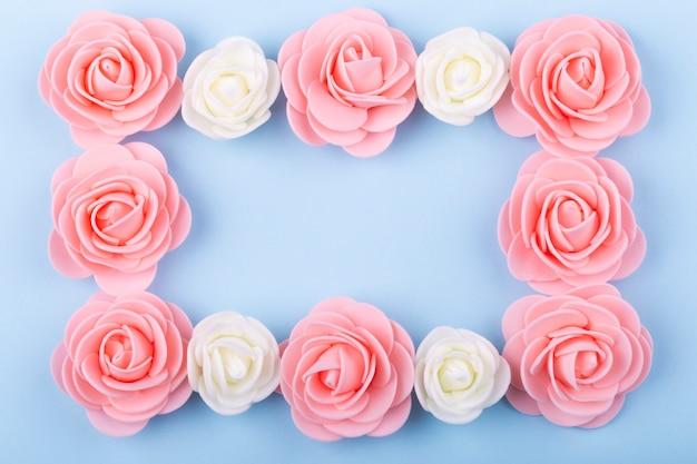 Frame van rozen