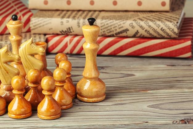 Frame van schaakstukken