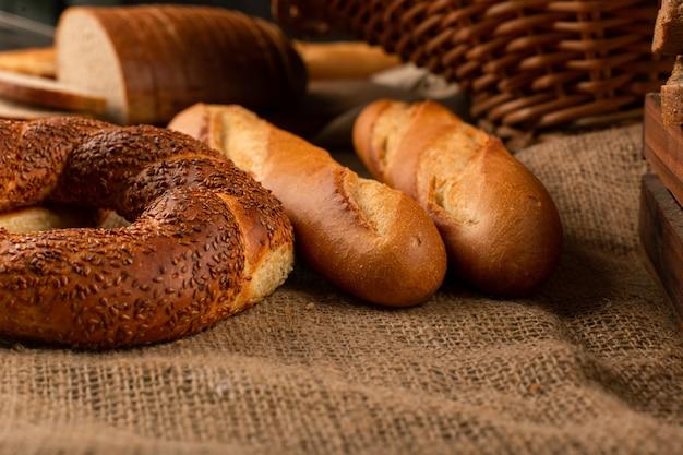 Frans stokbrood met turkse bagels