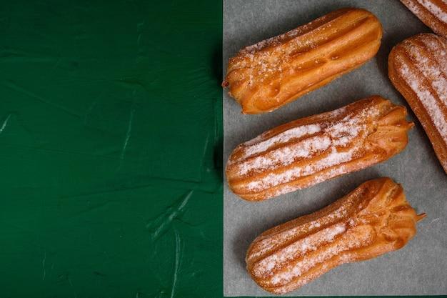 Franse dessert eclair