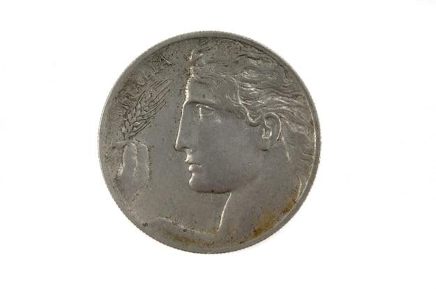 Franse munteenheid van de twintigste eeuw 2 cs, 1908