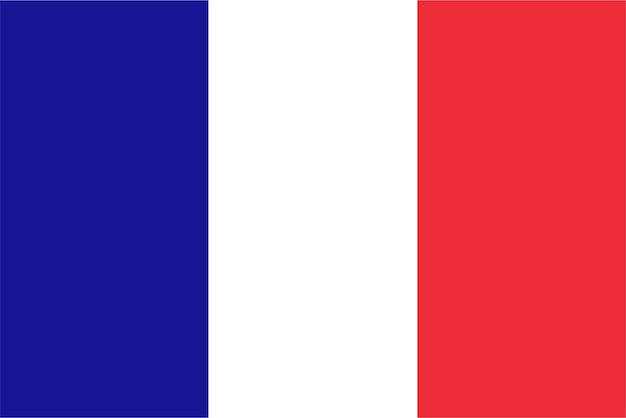 Franse vlag van frankrijk