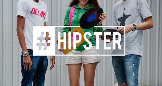 Freedom positivity hipster muziek hipster