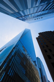 Freedom tower manhattan-wolkenkrabbers new york